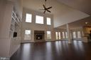 FAMILY ROOM - 5903 COPPER MILL DR, FREDERICKSBURG