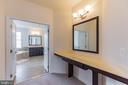 Master Bedroom Vanity Desk - 11504 PEGASUS CT, UPPER MARLBORO