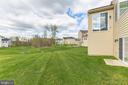 Backyard view - 11504 PEGASUS CT, UPPER MARLBORO