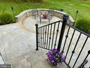 French doors lead to beautiful patio - 31 CRAWFORD LN, STAFFORD
