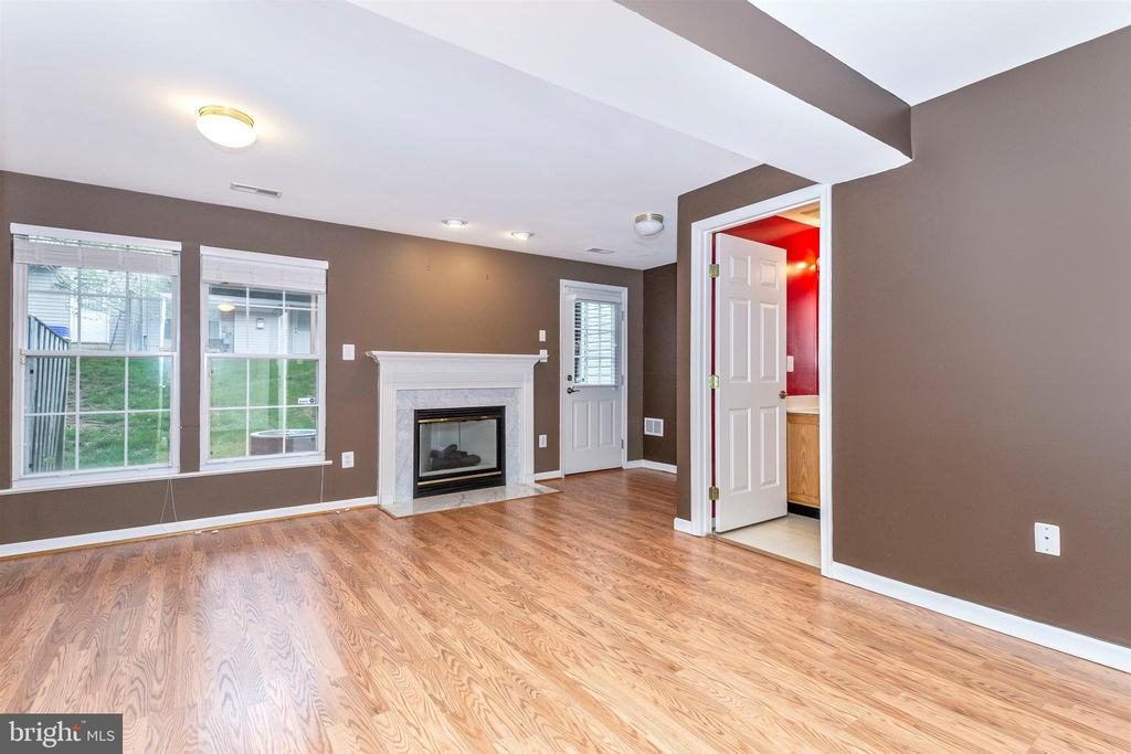 Finished Walkout Basement - 13107 ALPINE DR #104, GERMANTOWN
