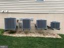 4 Zoned A/C compressors - 11504 PEGASUS CT, UPPER MARLBORO