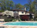 Rear of Home Overlooking In-Ground Pool  and River - 3905 BELLE RIVE TER, ALEXANDRIA