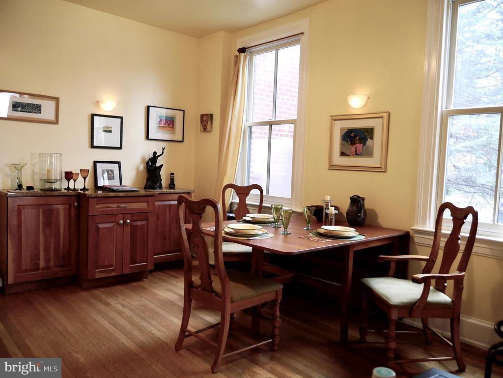 The dining room - 900 SOUTH CAROLINA AVE SE, WASHINGTON