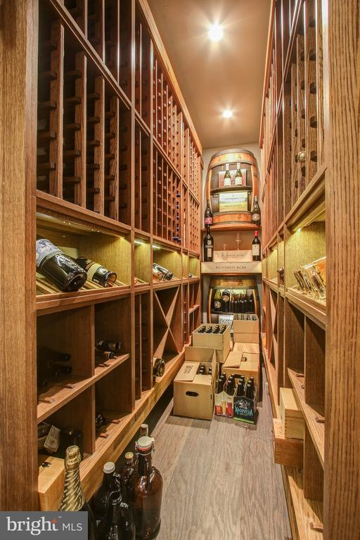 880 bottle, temp controlled wine cellar. - 47652 PAULSEN SQ, POTOMAC FALLS