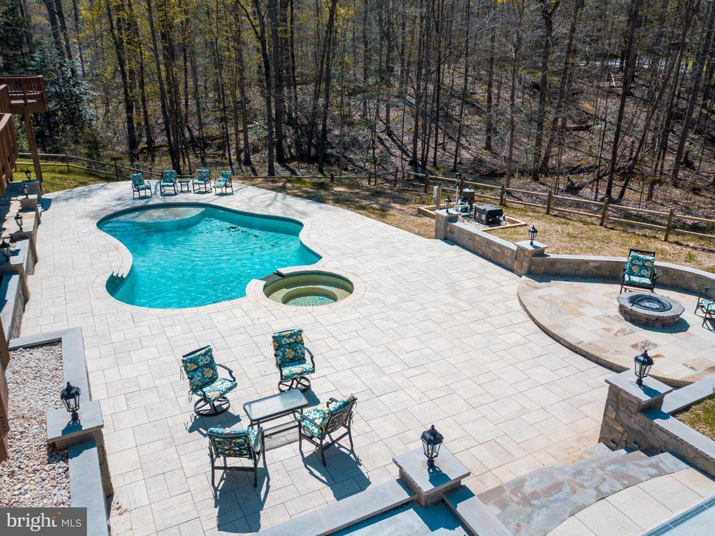 Spectacular Backyard - 7780 KELLY ANN CT, FAIRFAX STATION