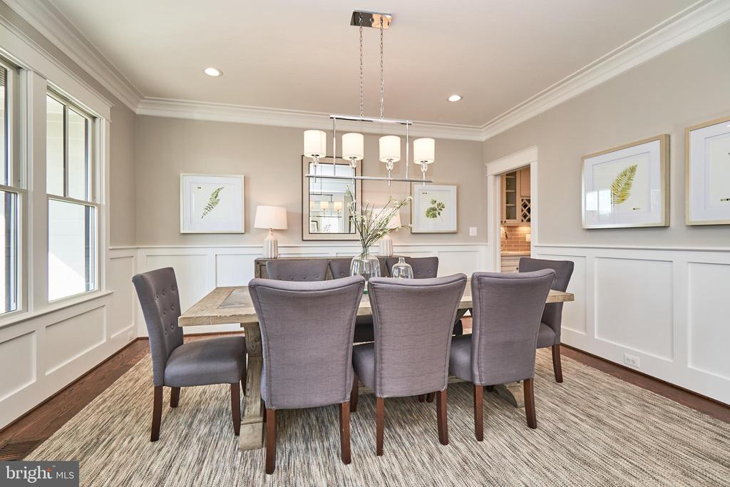 Dining room-Same  model, different location - 4042 21ST ST N, ARLINGTON