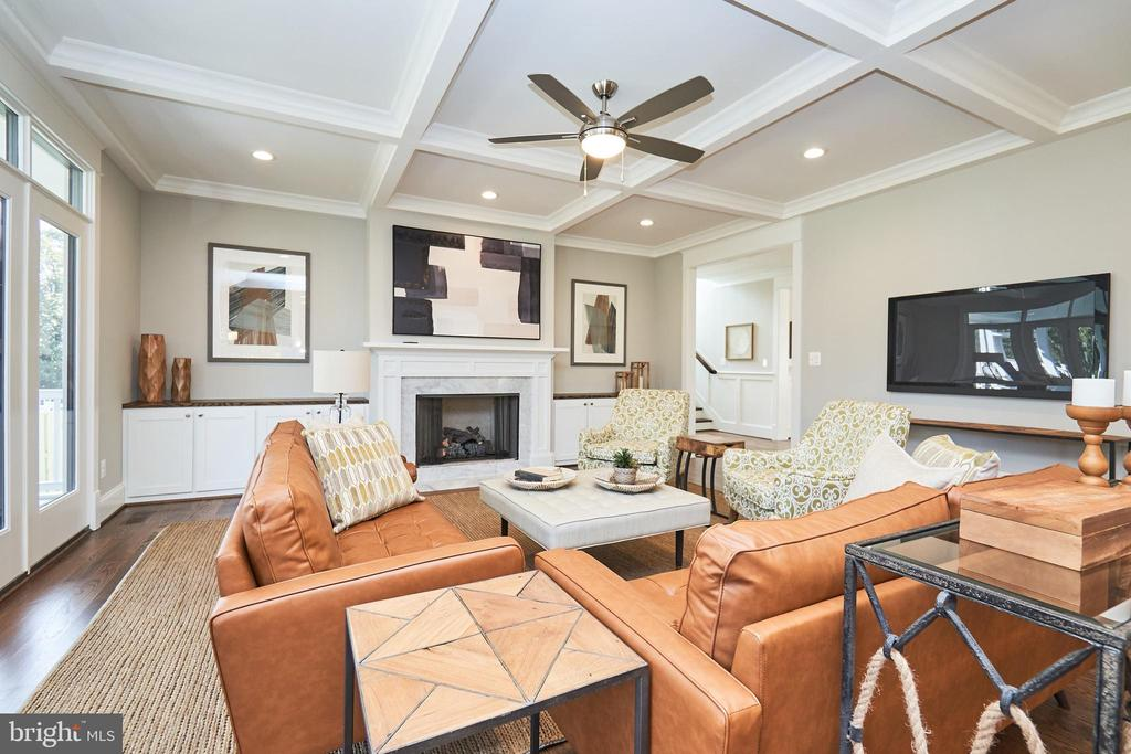 Family room-Same  model, different location - 4042 21ST ST N, ARLINGTON