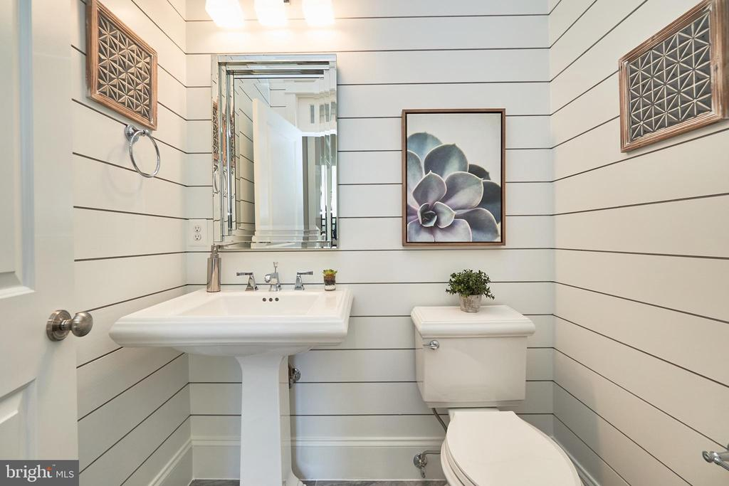 Powder room-Same  model, different location - 4042 21ST ST N, ARLINGTON