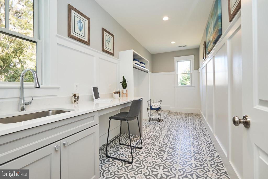 Laundry room-Same  model, different location - 4042 21ST ST N, ARLINGTON