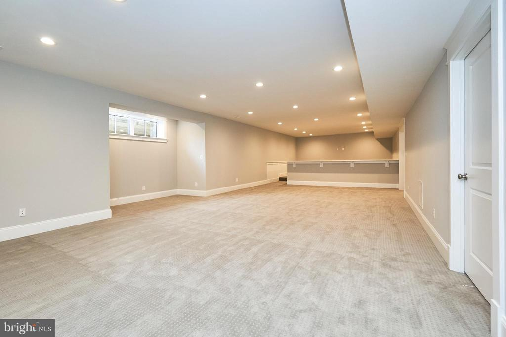 Basement Rec room-Same  model, different location - 4042 21ST ST N, ARLINGTON