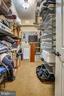 Walk-in Closet on Lower Level - 27 E MASONIC VIEW AVE, ALEXANDRIA