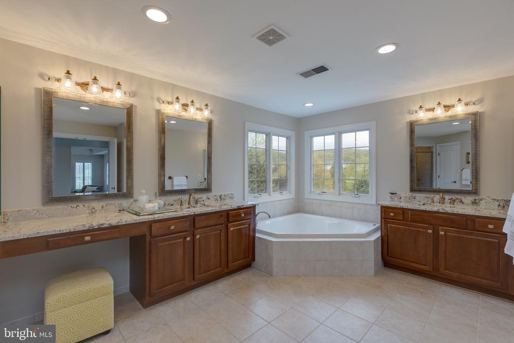 Beautifully Remodeled Master Bath - 16329 LIMESTONE CT, LEESBURG