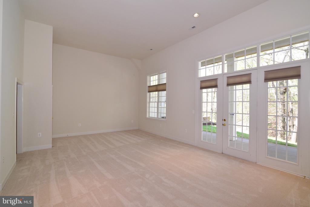 Bright & Light Lower Level w/French Door to Patio. - 18229 CYPRESS POINT TER, LEESBURG