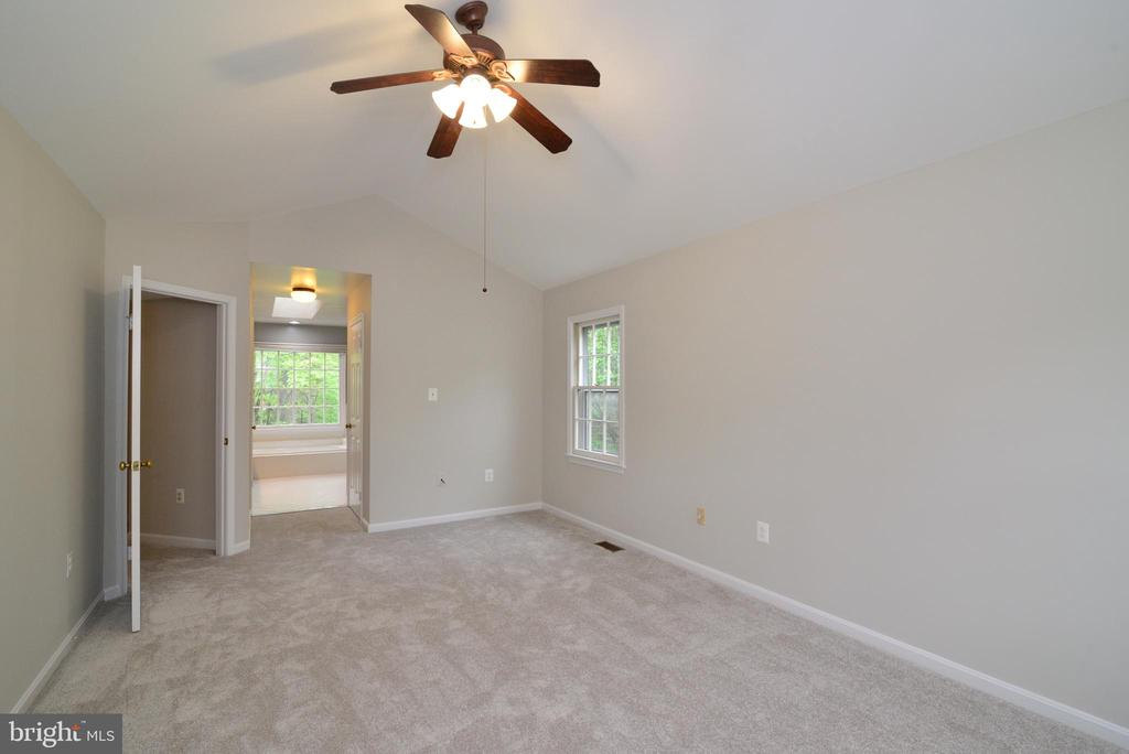 Master Bedroom with Attached Bath - 11612 OLD BROOKVILLE CT, RESTON