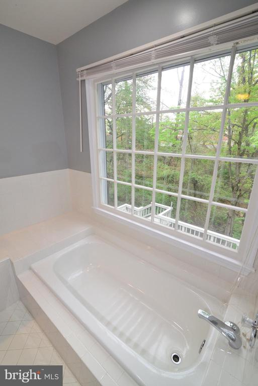 Soaking Tub in Master Bath - 11612 OLD BROOKVILLE CT, RESTON