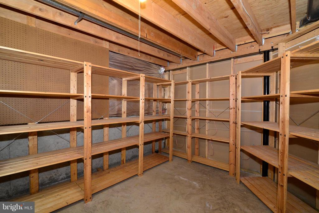 Lower Level Storage Room of view - 11612 OLD BROOKVILLE CT, RESTON