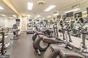 Fitness Center - 4620 N PARK AVE #1005E, CHEVY CHASE