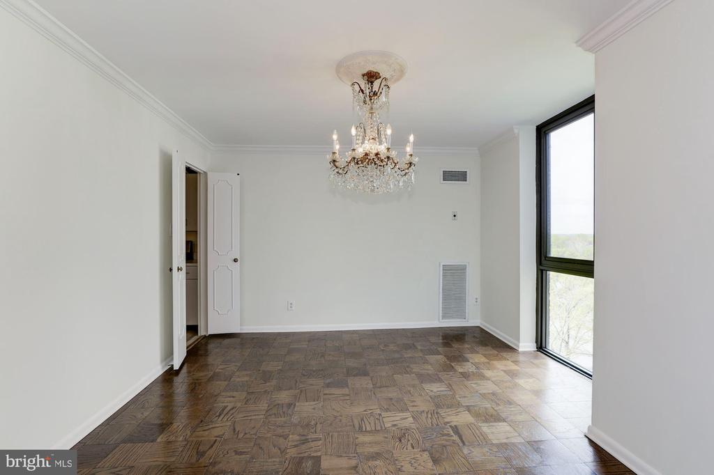 Dining Room - 4620 N PARK AVE #1005E, CHEVY CHASE