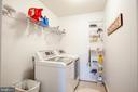 Upstairs laundry room - 12504 SINGLE OAK RD, FREDERICKSBURG