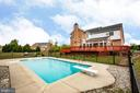8 ft deep with diving board - 12504 SINGLE OAK RD, FREDERICKSBURG