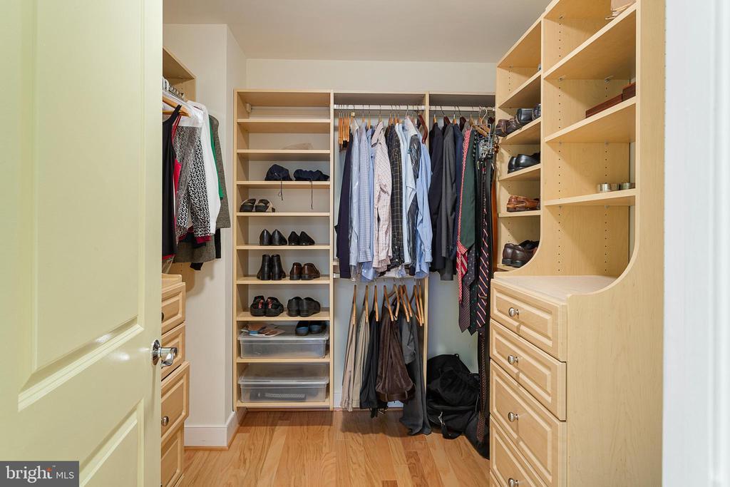Master Walk-In Closet - 2425 L ST NW #240, WASHINGTON