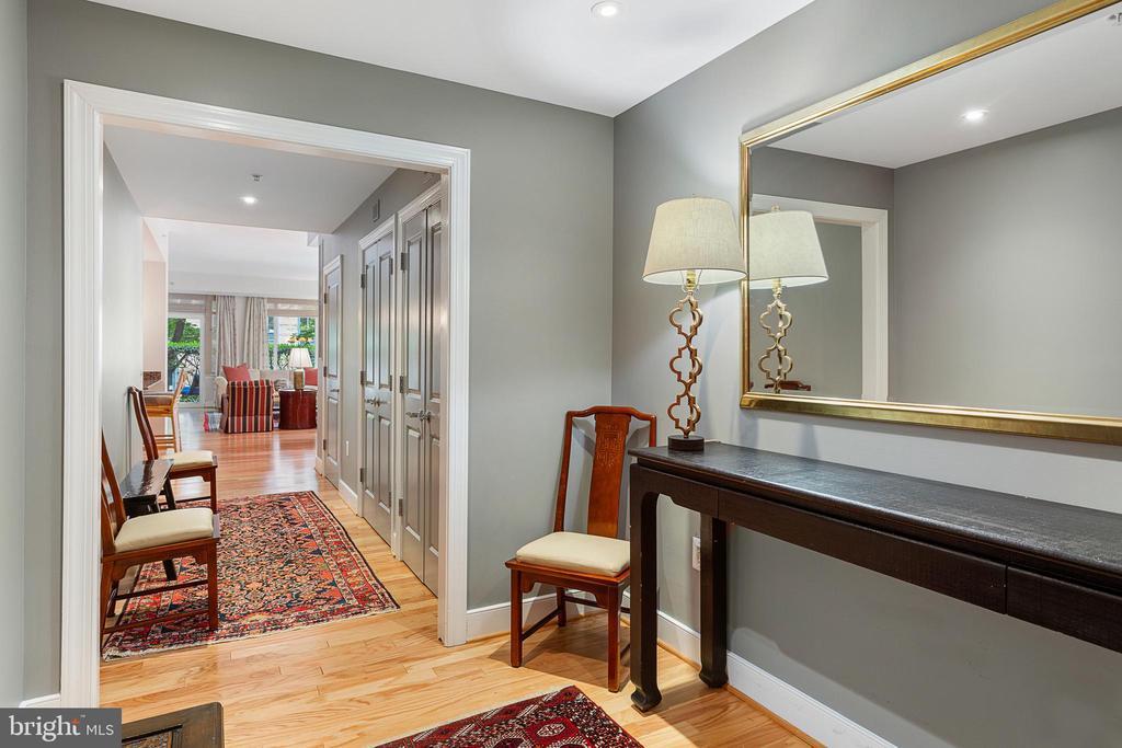 Living RoomEntry Foyer - 2425 L ST NW #240, WASHINGTON