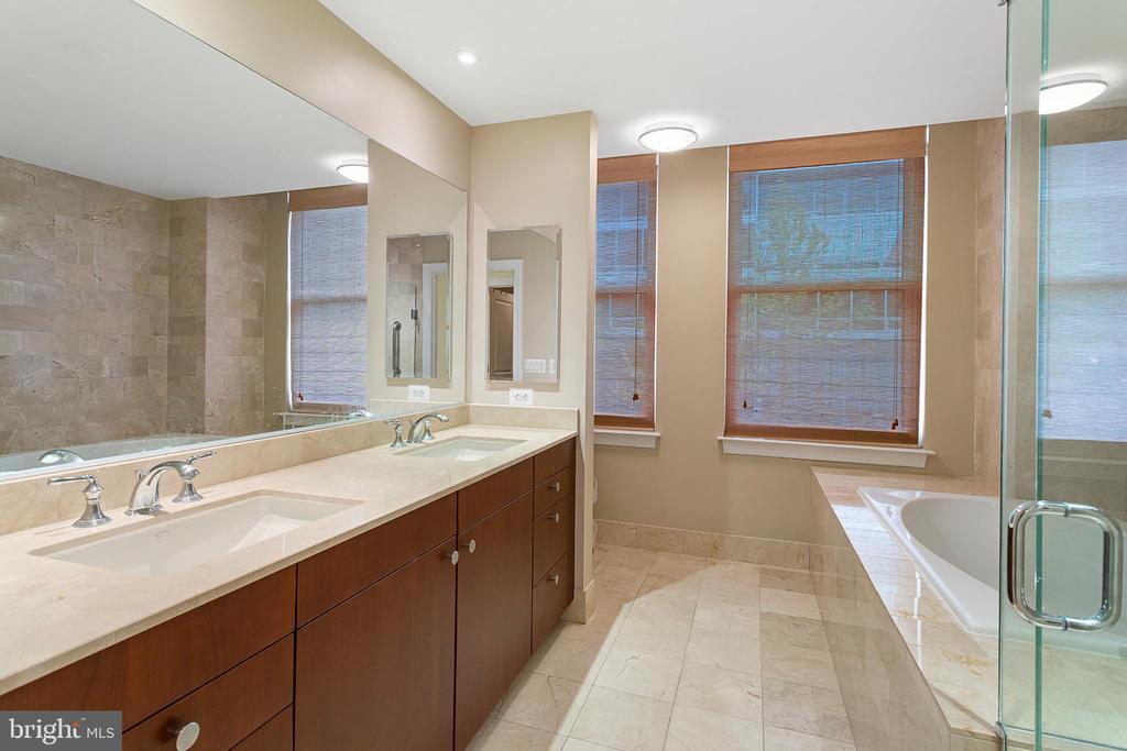 Master Bathroom - 2425 L ST NW #240, WASHINGTON