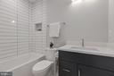 Second Bathroom en Suite - 17 FREDERICK DOUGLASS CT NE, WASHINGTON
