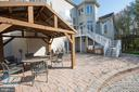 Patio perfect for entertaining - 27531 PADDOCK TRAIL PL, CHANTILLY