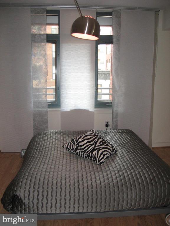 Master Bedroom overlooking the balcony - 1117 10TH ST NW #504, WASHINGTON