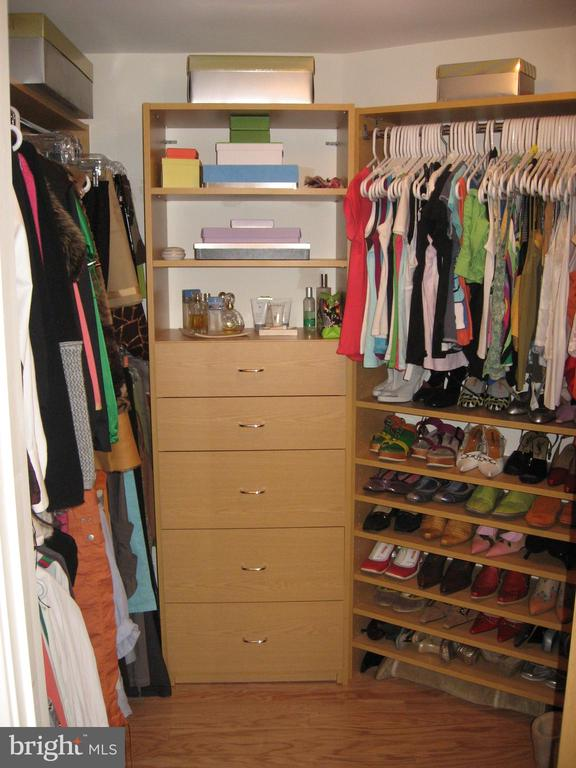 Large walk-in-closet in 2nd BR - 1117 10TH ST NW #504, WASHINGTON