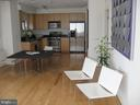 Open canvas - very open living/dining/kitchen area - 1117 10TH ST NW #504, WASHINGTON