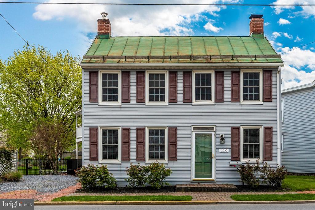 Front view - 116 S JEFFERSON ST, FREDERICK