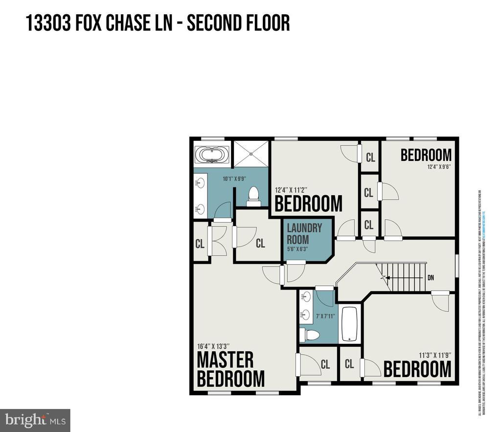 Upper Level - Haven Plan - 278 ANDERSON RD, FREDERICKSBURG