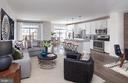 Open Concept Floor Plan - 23255 MILLTOWN KNOLL SQ #103, ASHBURN