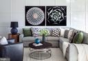 Living Room - 23255 MILLTOWN KNOLL SQ #103, ASHBURN