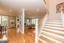 Open floor plan gives owners many choices - 2700 BEECHWOOD PL, ARLINGTON