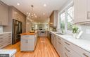Counter tops are quartz - 2700 BEECHWOOD PL, ARLINGTON