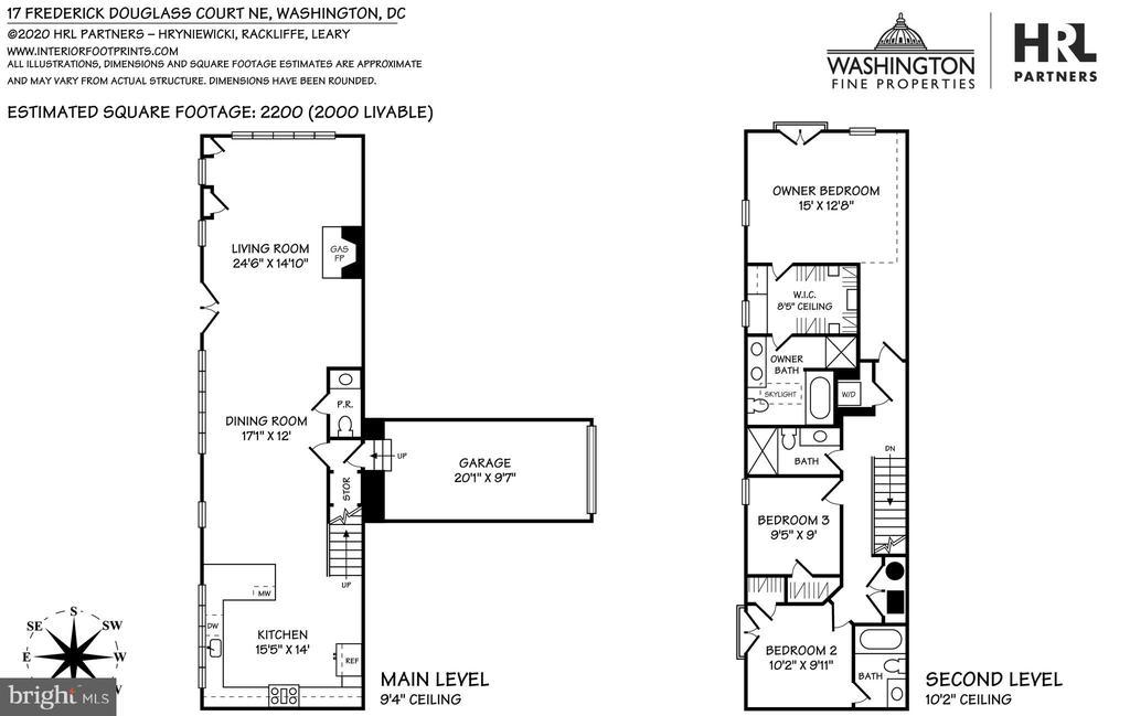 Floor Plans - 17 FREDERICK DOUGLASS CT NE, WASHINGTON