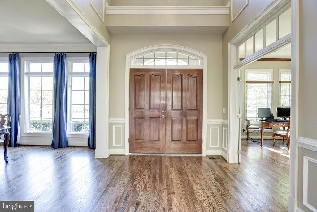 Just refinished HW floors throughout entire house - 40989 GRENATA PRESERVE PL, LEESBURG