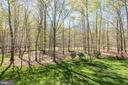 View into the backyard - 40989 GRENATA PRESERVE PL, LEESBURG