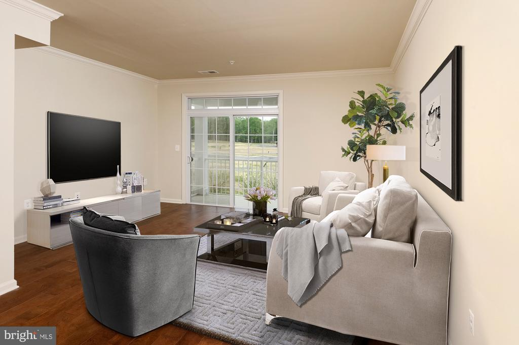 Tennyson Family Room - 23265 MILLTOWN KNOLL SQ #107, ASHBURN