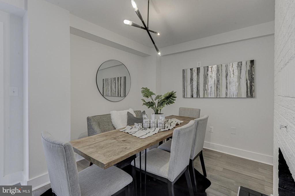 Dining Room - 3701 SOUTH DAKOTA AVE NE, WASHINGTON