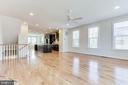 The great room is awash in natural light ... - 3160 VIRGINIA BLUEBELL CT, FAIRFAX