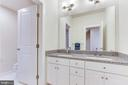 ... and the bath/shower in a separate room. - 3160 VIRGINIA BLUEBELL CT, FAIRFAX