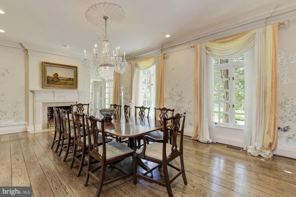 Main Level - Dining Room - 11517 HIGHLAND FARM RD, POTOMAC