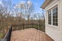 Master Suite Terrace - 24 BRETT MANOR CT, COCKEYSVILLE