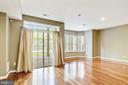 High Ceilings & Ample Light make this space shine! - 1911 LOGAN MANOR DR, RESTON