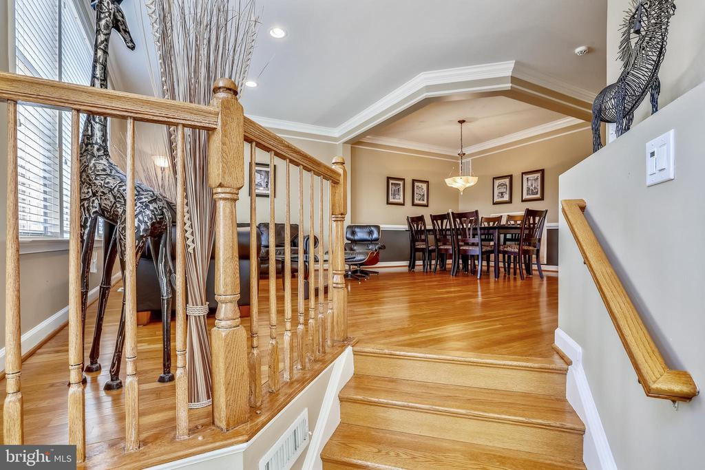Gleaming Hardwood Flooring on all 4 Living Levels! - 1911 LOGAN MANOR DR, RESTON